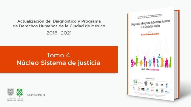 Tomo 4. Núcleo de Sistema de justicia